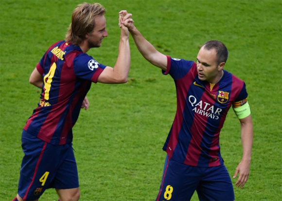 2018 FIFA WC  Rakitic was left stunned when Iniesta was omitted from  Spain s lineup against Russia 9bc6c7327