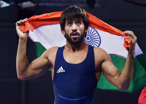 Asian Games 2018: Bajrang Punia the hero, India gets its first gold