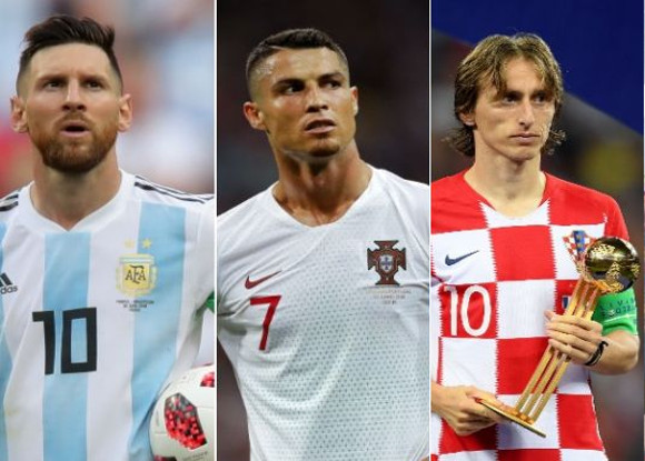 How did Luka Modric react on Messi   Ronaldo after becoming the best ... a56c88543