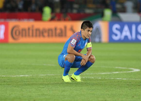 Asian Cup 2019: What is Sunil Chhetri reaction on Stephen Constantine's decision?