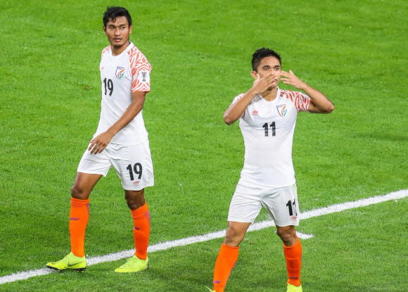 What is the reason behind Sunil Chhetri's supreme fitness at the age of 35?