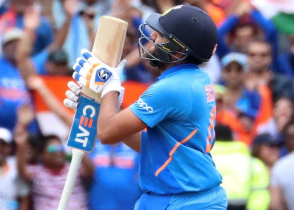 Rohit Sharma just one hit away from a rare record