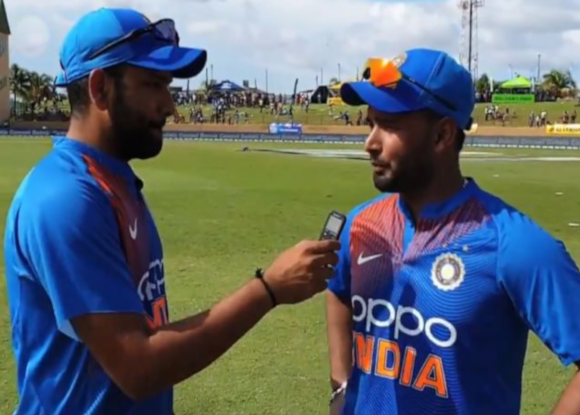 Pant reveals game plan to Rohit Sharma after playing a match winning knock