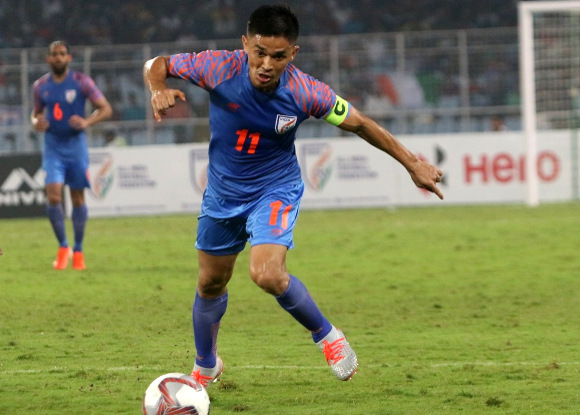 Sunil Chhetri breaks his silence after disappointing show against Bangladesh