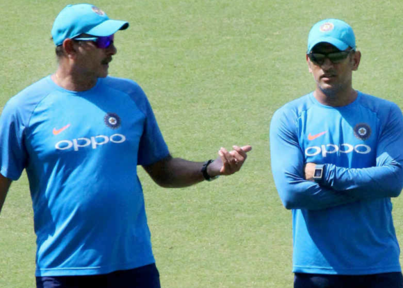 Dhoni will go down as one of our greatest players, says Shastri