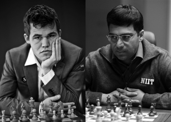 Anand, Carlsen to face off in rapid and blitz chess championships in Kolkata