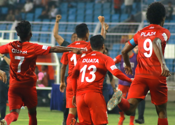 I-League 2019/20: Willis Plaza's late goal takes Churchill to top of the table