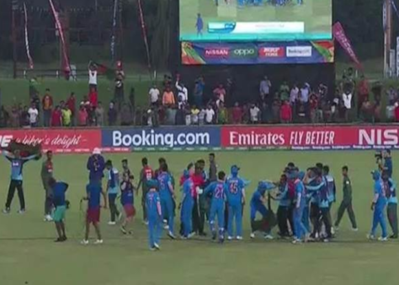 Five cricketers found guilty by ICC for brawl after U-19 World Cup final