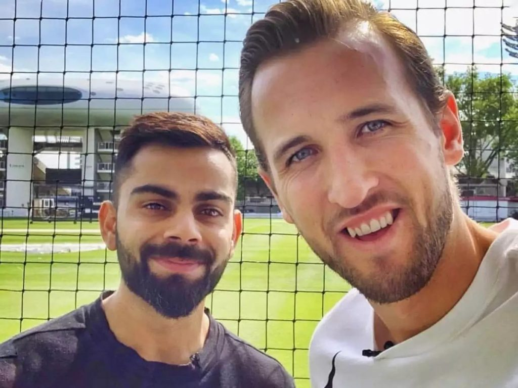 """""""We can get you as a counter attacking batsman"""", Virat Kohli to Harry Kane 