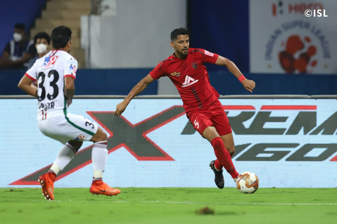 A late goal helped NorthEast to stay in level terms against ATK Mohun Bagan | XtraTime | To get the best and exclusive sporting news, keep watching XtraTime